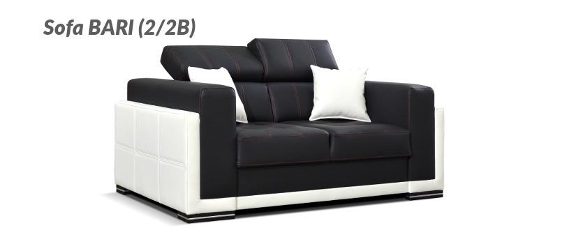 Dwuosobowa sofa z kolekcji BARI