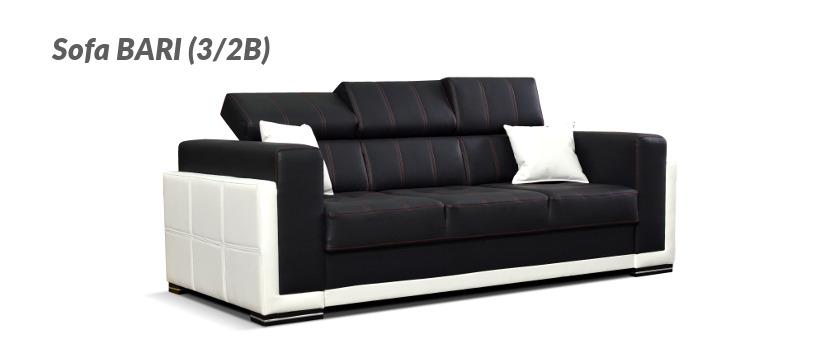Sofa trzyosobowa BARI (3/2B)